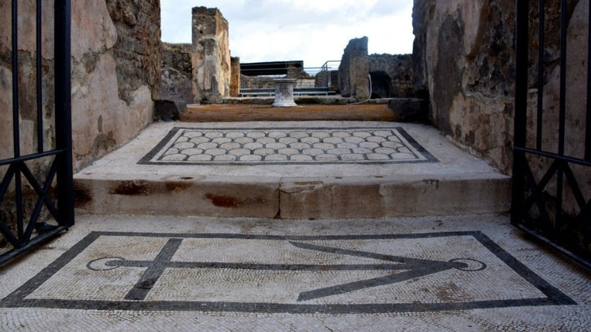 La Domus dell'Ancora. Immagine: Sito dell'Area Archeologica di Pompei
