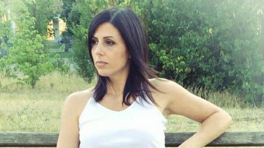 La moglie di Gianluca Romagnoli, Isabella Longano. Immagine: Isabella Longano/Facebook