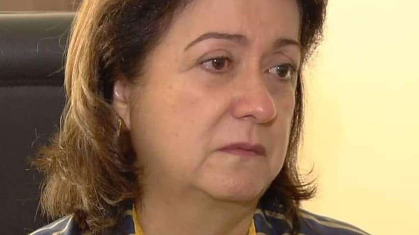 La pediatra Irene Ribeiro Machado. Immagine: TV  Anhanguera/Facebook