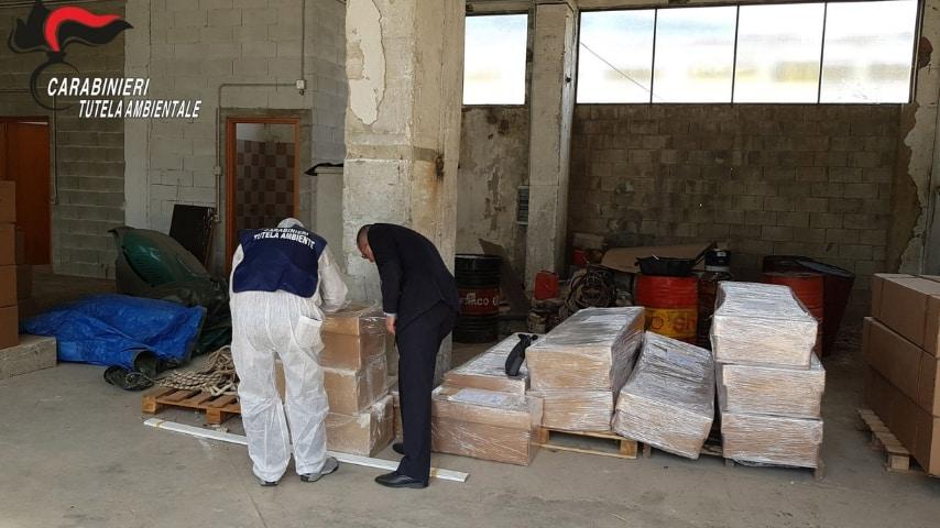 Le indagini del Nucleo operativo ecologico. Fonte: Sito Carabinieri