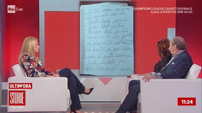 Le lettere del figlio Alessio Gatti