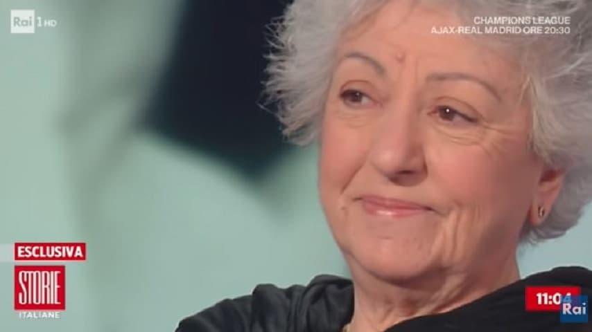 Leda Bertè a Storie Italiane problemi economici