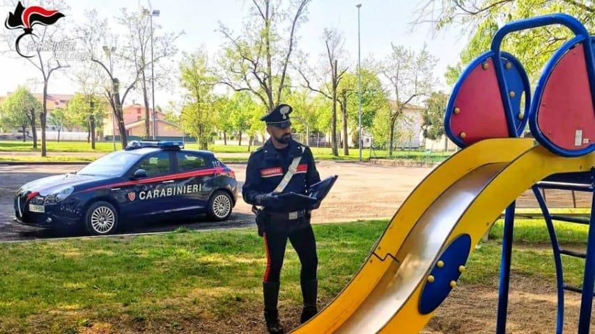 Maniaco arrestato a Bologna (Foto Carabinieri)