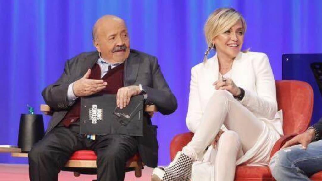 Paola Barale e Maurizio Costanzo di nuovo insieme in tv