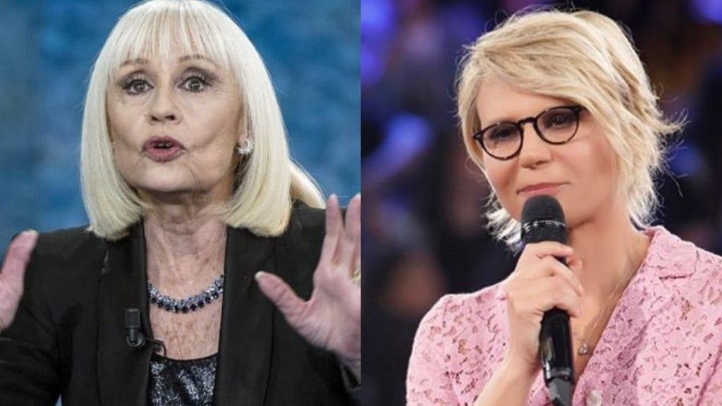 Raffaella Carrà critica Uomini e Donne di Maria de Filippi