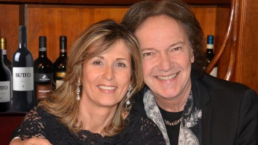 Red Canzian con la moglie. Fonte: Red Canzian/Facebook