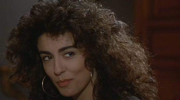 Sabrina Ferilli all'età di 25 anni
