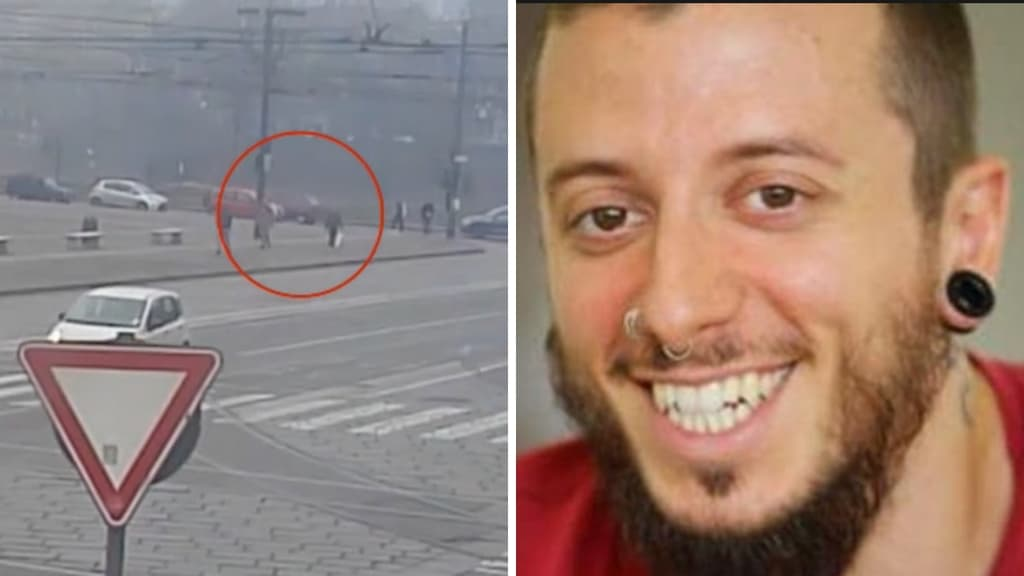Il video della fuga di Said Mechaquat