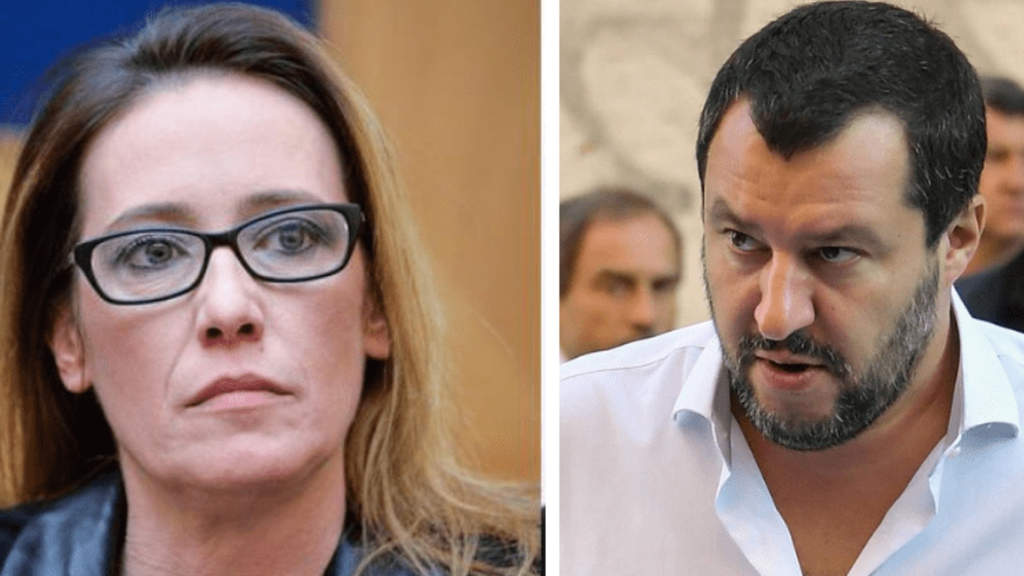 Salvini Mai detto che Ilaria Cucchi fa schifo. Al Pd arriverà una querela