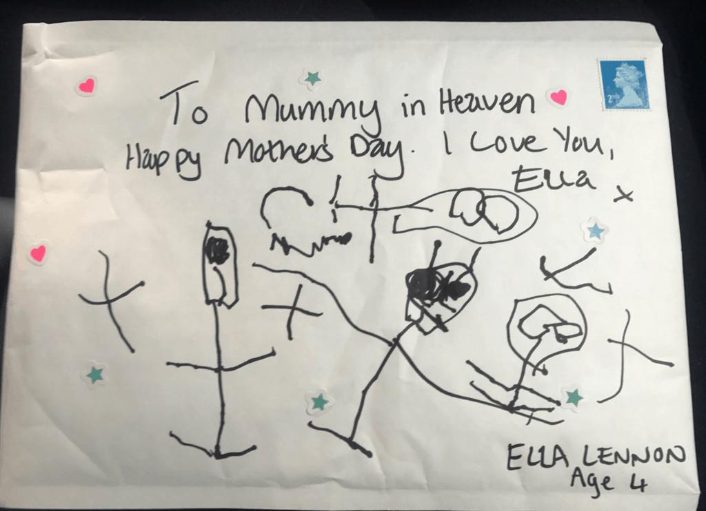 la lettera di Ella