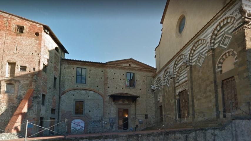 Sede storica del liceo artistico P. Petrocchi di Pistoia. Immagine: Google Maps
