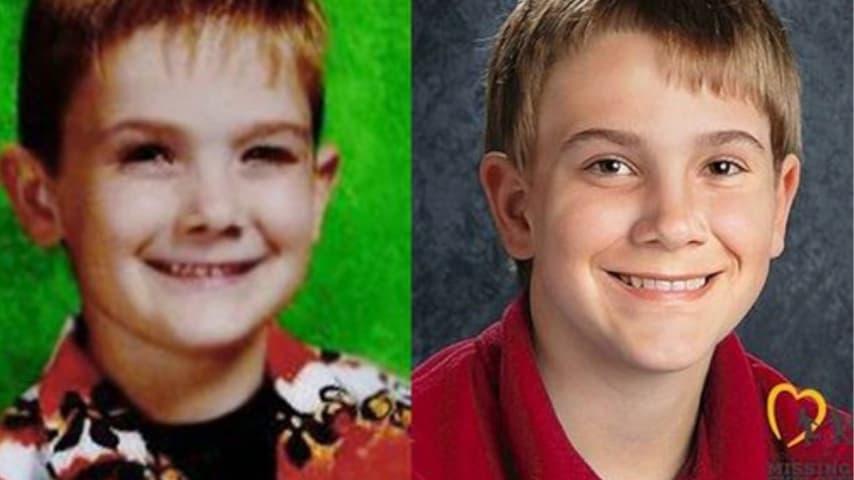 Timmothy, scomparso 8 anni fa, e un'immagine in età avanzata che mostra come potrebbe apparire all'età di 13 anni. (Foto: Dipartimento di polizia di Aurora/National Center for Missing and Exploited Children)