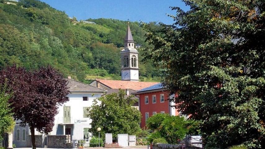 Uno scorcio del comune di Scurelle. Fonte: Sito Trentino