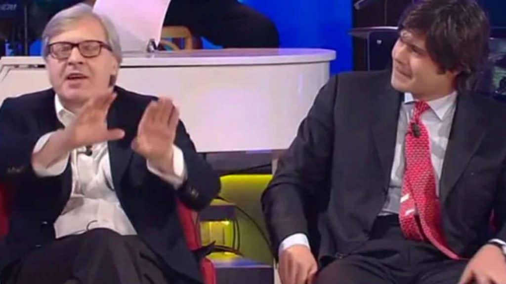 Vittorio Sgarbi e Carlo brenner