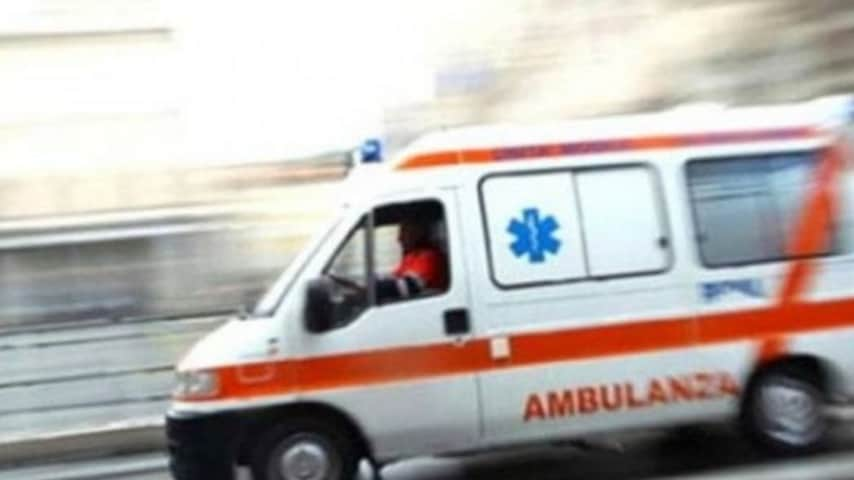 ambulanza in velocità