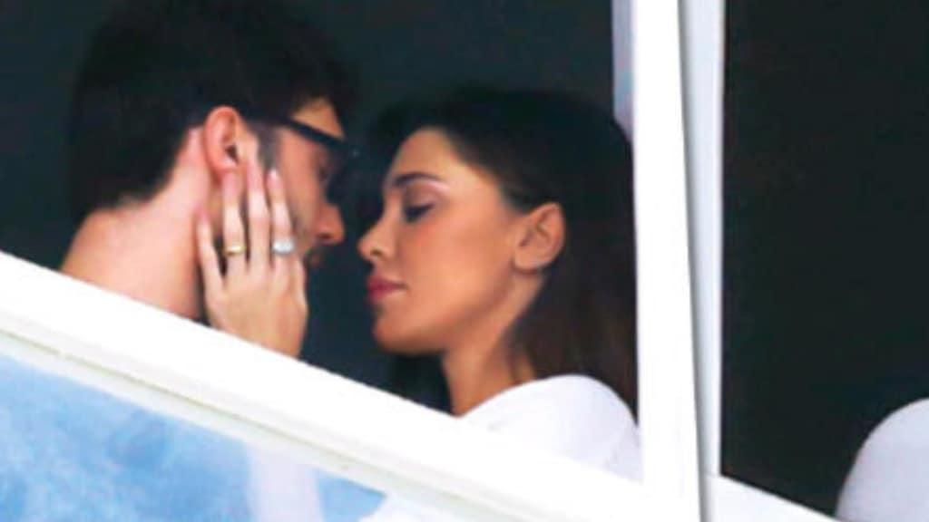 bacio stefano E belen rodriguez