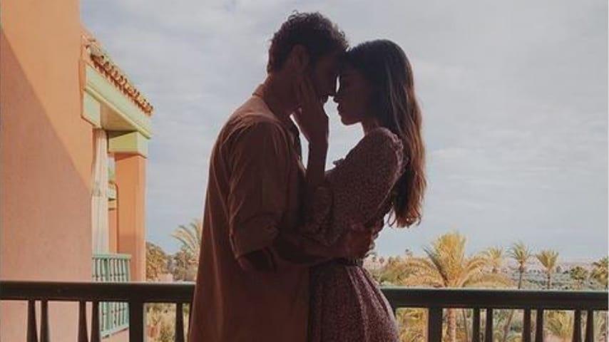 Il video in cui Belen Rodriguez e Stefano De Martino si baciano