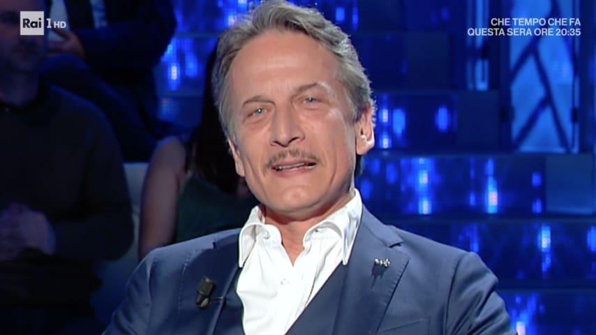 Cesare Bocci a Domenica In