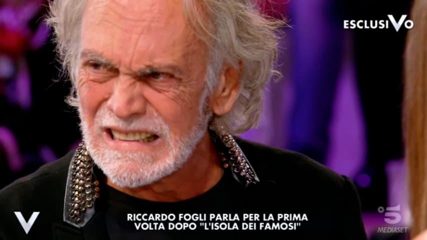 Riccardo Fogli a Verissimo