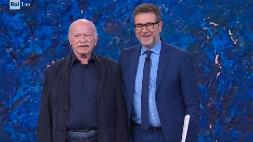 Gino Paoli con Fabio Fazio