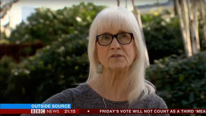 Jo Cameron intervistata dalla BBC