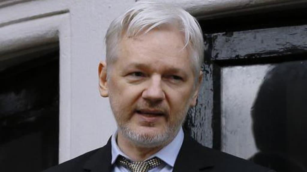 julian assange, primo piano