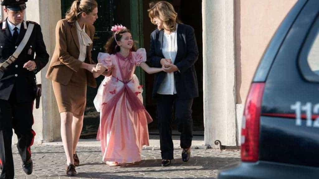 """Frame della serie tv """"L'Amore Strappato"""""""