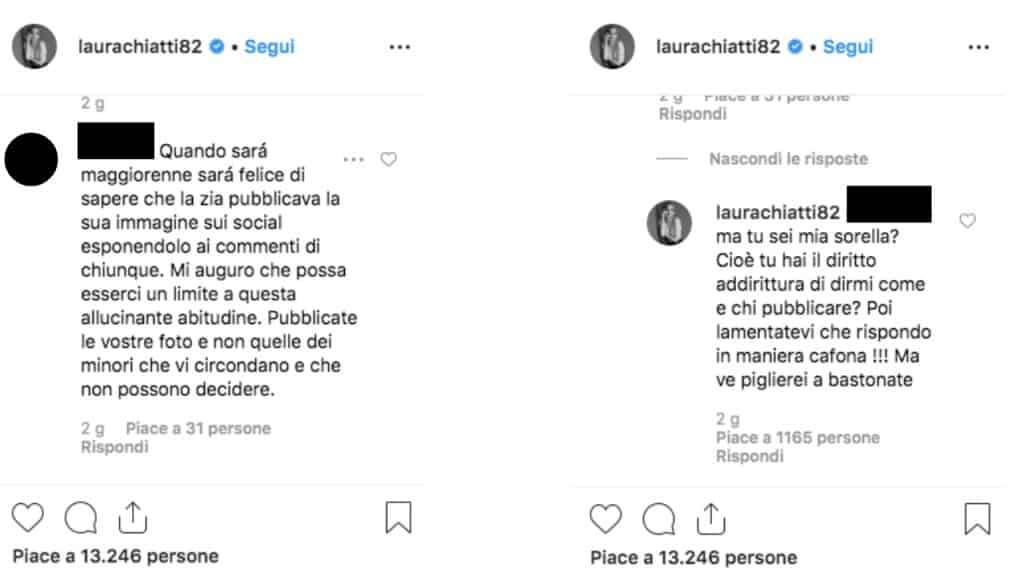 post instagram di laura chiatti