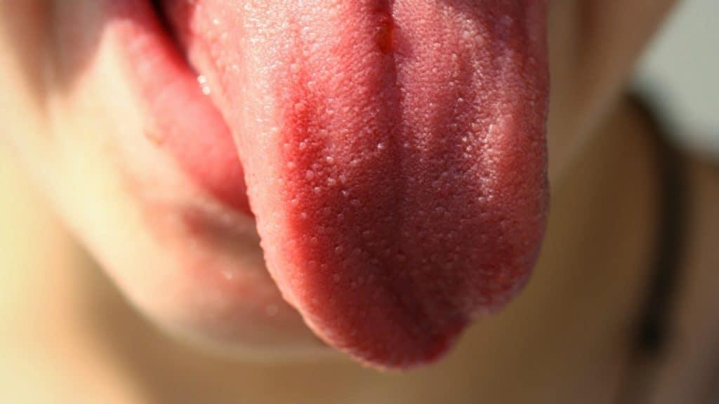 una lingua di fuori