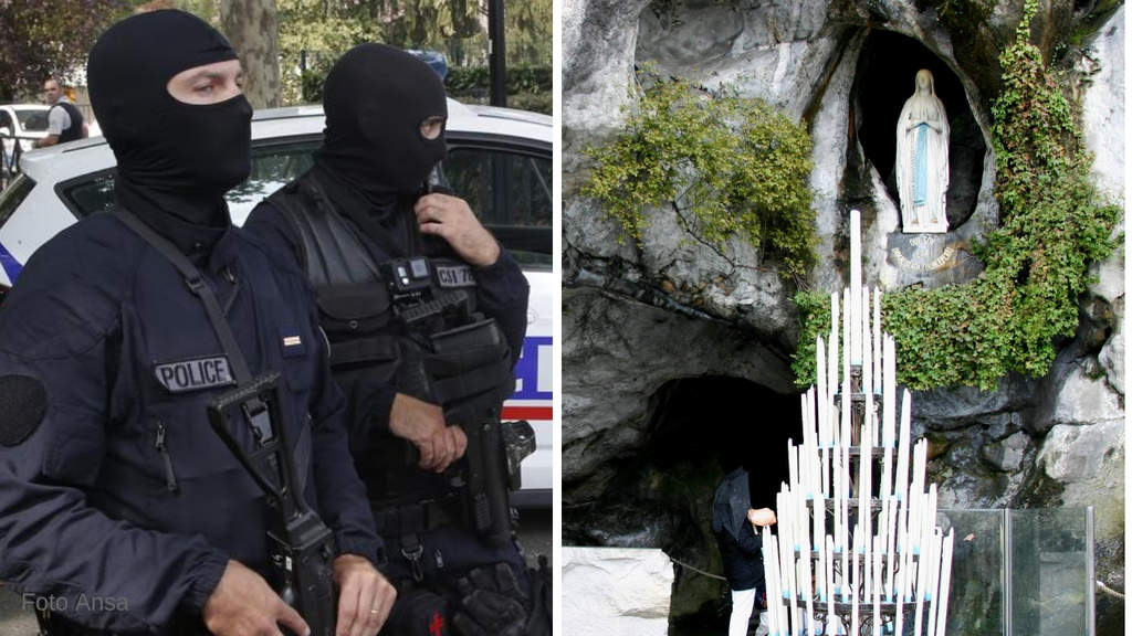 Lourdes, arrestato l'uomo armato con ostaggi: ferita la ex