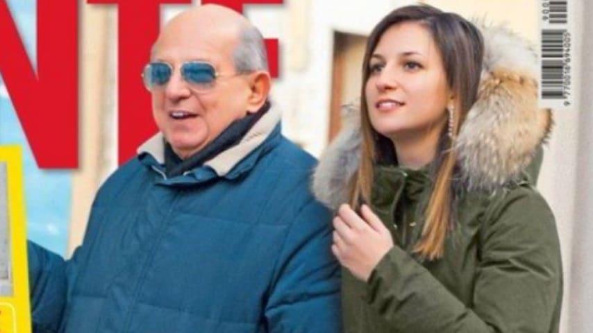Giancarlo Magalli e Giada Fusaro. Fonte: Gente