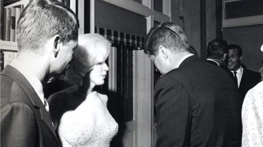 Marilyn Monroe e JKF