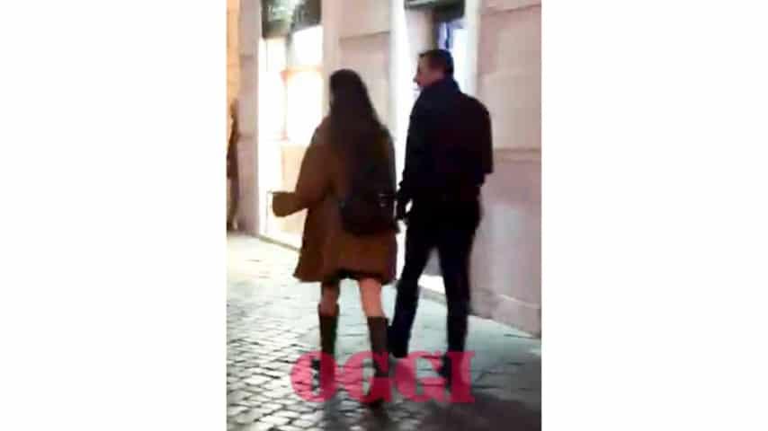 Matteo Salvini e Francesca Verdini: la prima cena