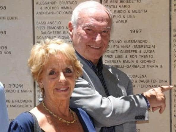 Piero Angela e Margherita Pastore. Foto: Gente