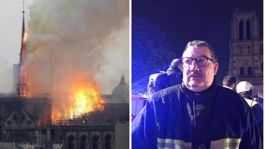 Notre-dame, prete eroe del Bataclan salva dalle fiamme i tesori sacri della Cattedrale