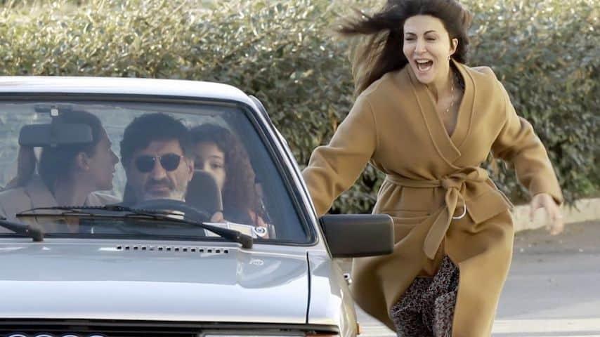 """Una scena della prima puntata della fiction """"L'Amore Strappato"""" andata in onda domenica 31 marzo."""