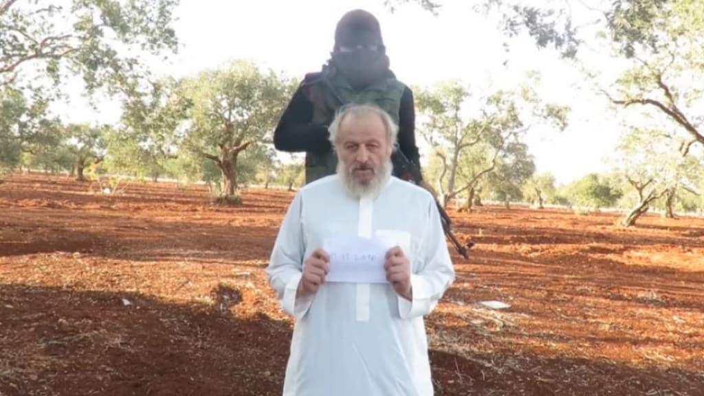 sergio zanotti in ostaggio di Al Qaeda