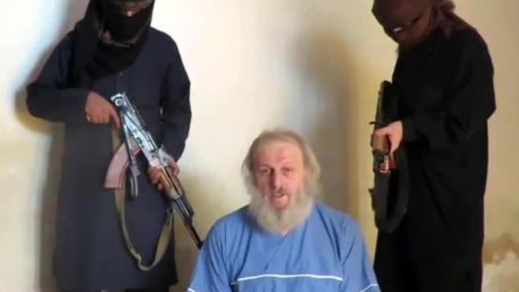 sergio zanotti in mano ai rapitori in Siria