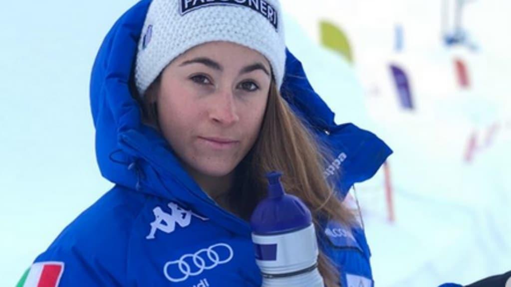 sofia goggia sulle piste da sci