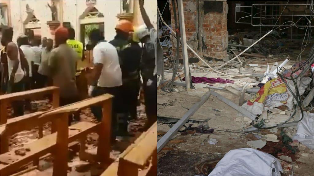 Sri Lanka: esplosioni, almeno 50 morti