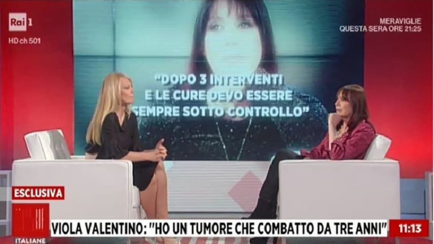 Viola Valentino a Storie Italiane