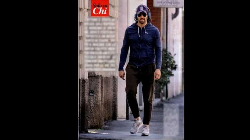 Walter Nudo dopo l'intervento fa sport in giro per Milano