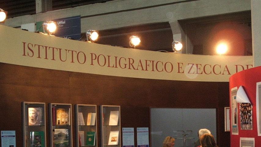 Istituto Poligrafico e Zecca dello Stato. Credits: Wikipedia