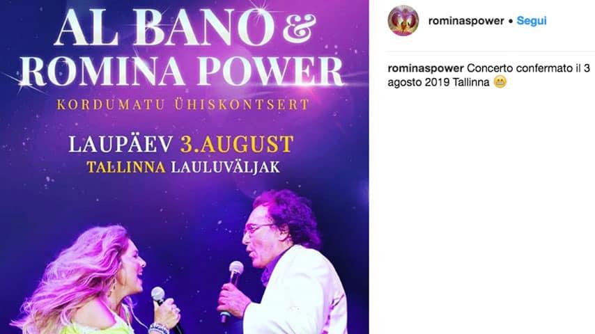 Albano e Romina in concerto