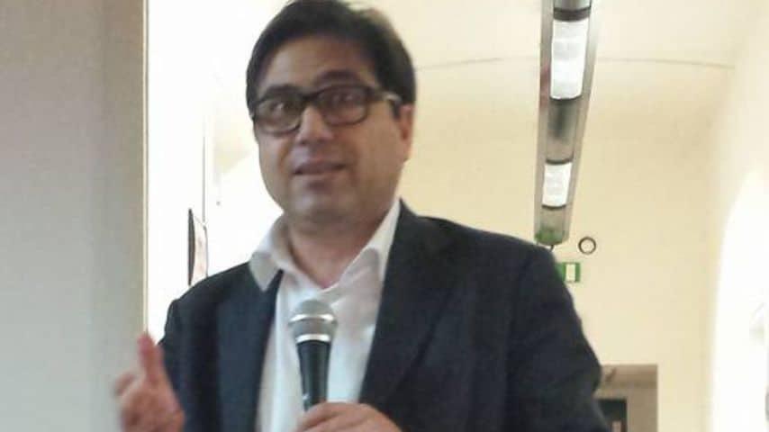 Alessio D'Amato, assessore regionale alla Sanità. Immagine: Filctem Roma e Lazio/Facebook