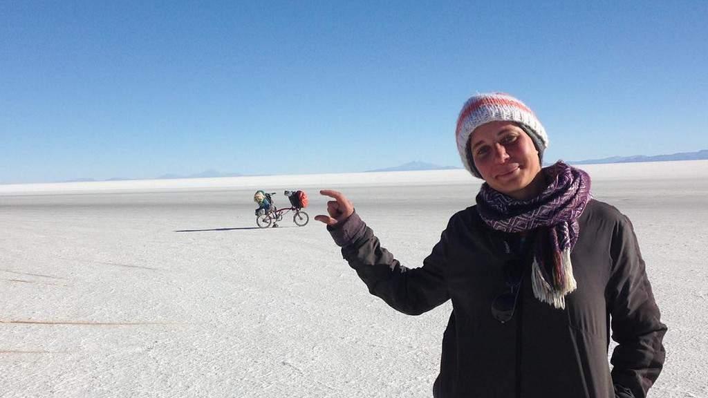 Beatrice Filippini, attraversa il Sudamerica in bicicletta
