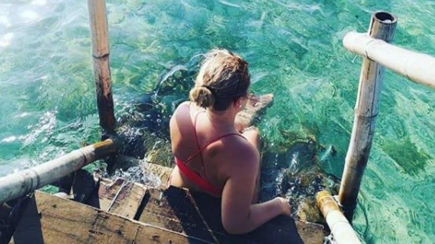 Birgitte durante la sua vacanza nelle Filippine, poco tempo prima di morire (Foto Instagram)