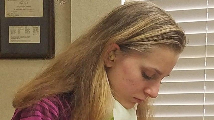 Caitlin, la 16enne che ogni notte perde la memoria