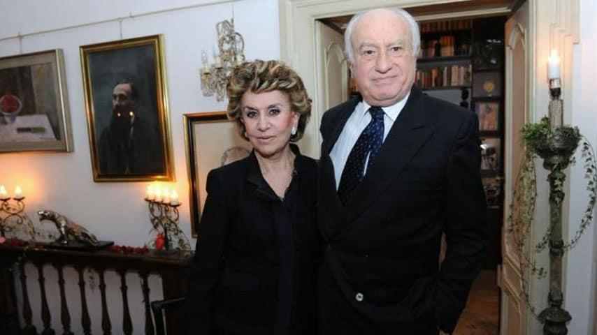 Franca Leosini e suo marito