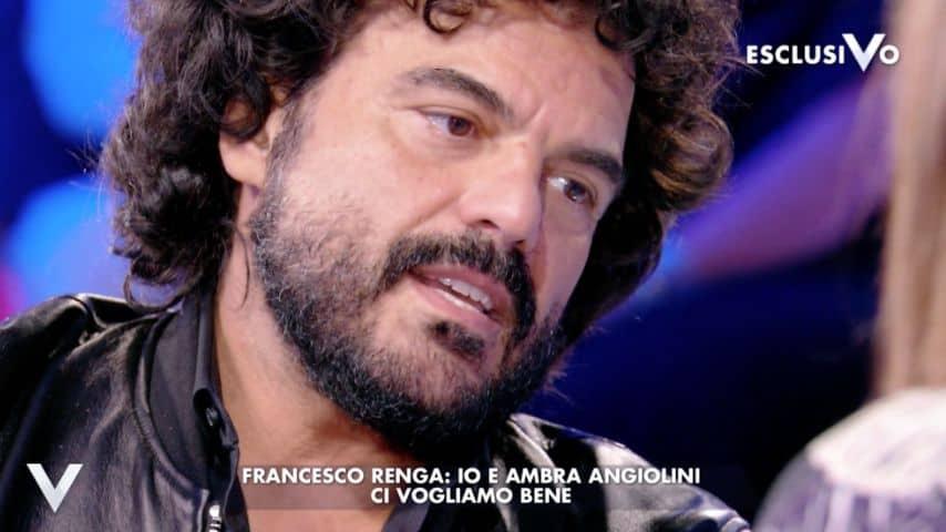 Francesco Renga e il rapporto con la sua ex, Ambra Angiolini. Immagine: Puntata Verissimo